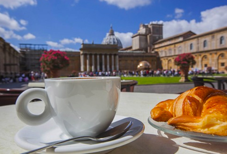 Vatican Tour-Rome-Tour-Guide-Vatican breakfast